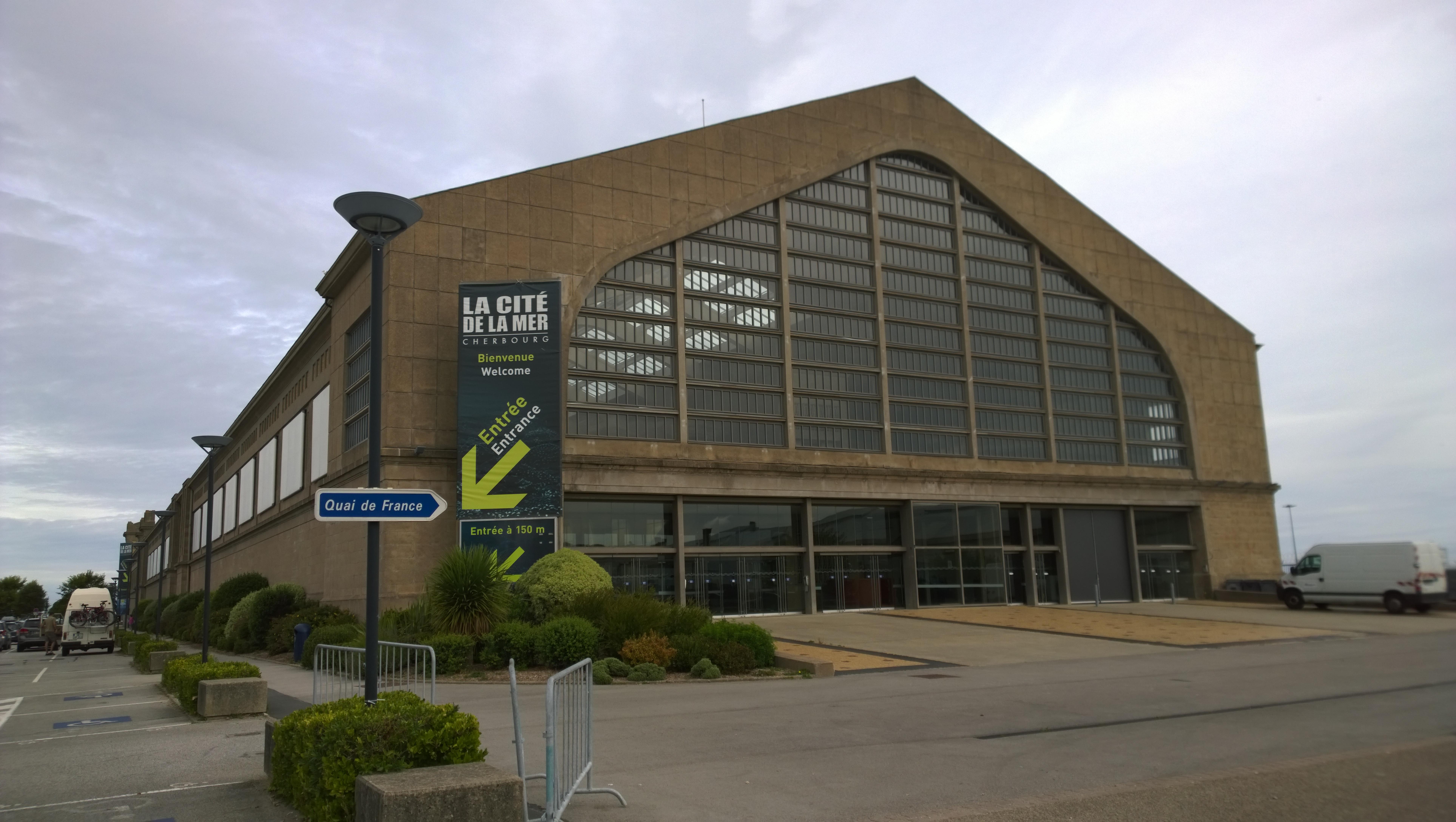 Cherbourg Cité de la Mer