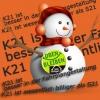 Weihnachtsicons gegen S21 für K21