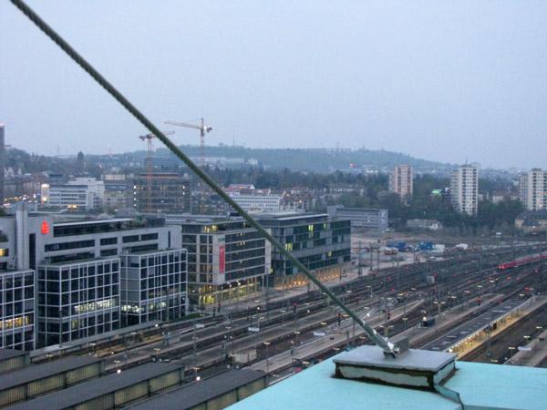 Stuttgart am Abend