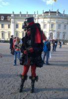 Punkerkünstler Venezianische Messe
