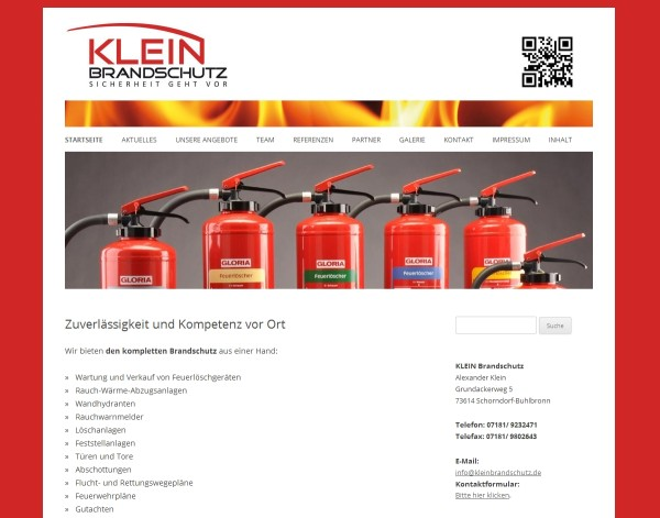 kleinbrandschutz