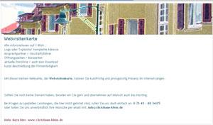 Weststadt-Motiv / Internetvisitenkarte